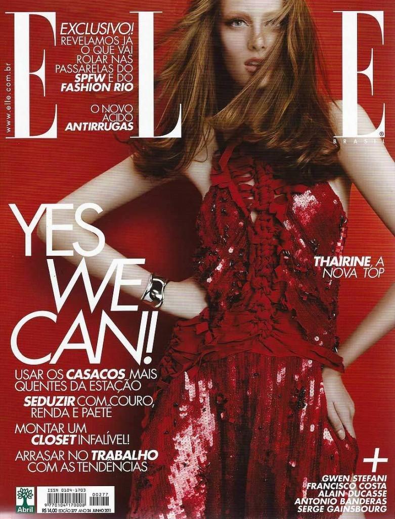 Nikoletta Skarlatos Elle Magazine